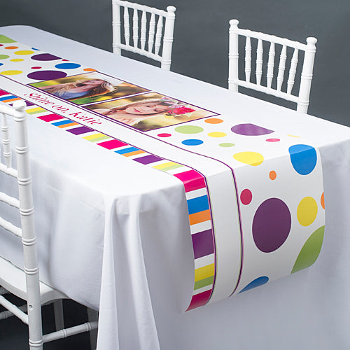 Bright & Bold Table Top-It Runner