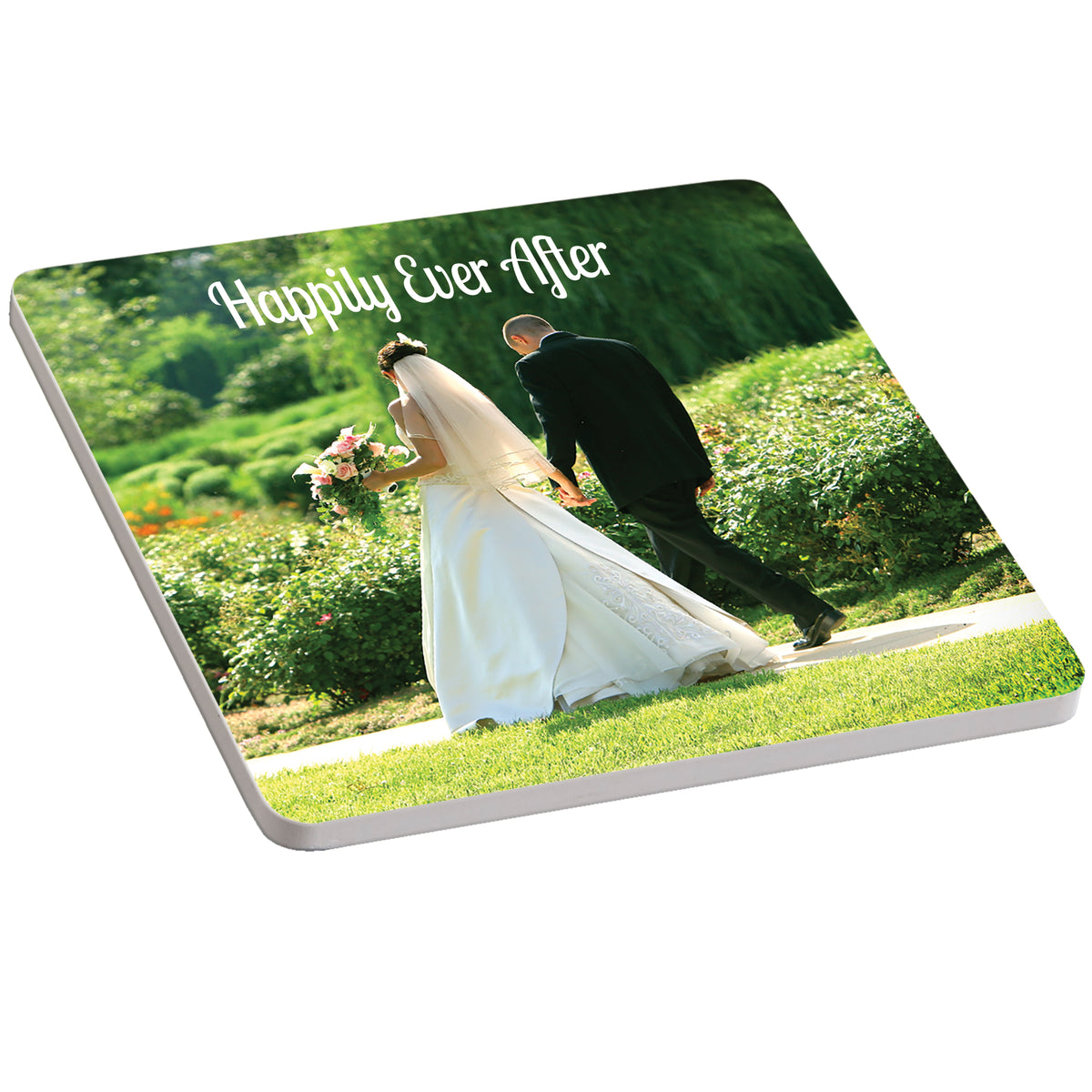 Statement Year Personalized Ceramic Coaster