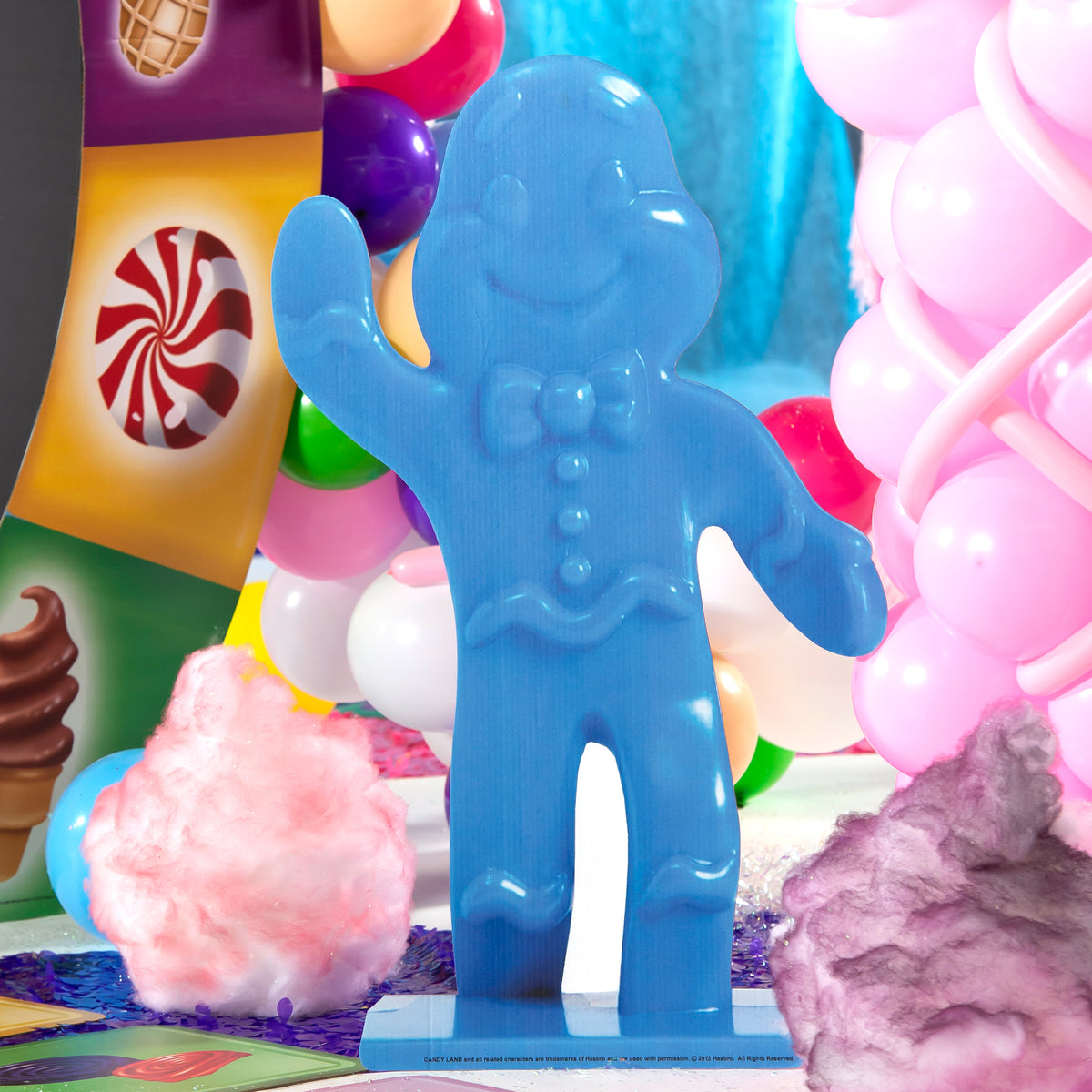 3 ft. 8 in. Candy Land Gingerbread Piece Standees