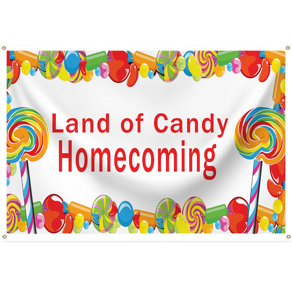 Lollipop & Candy Dreams Square Banner