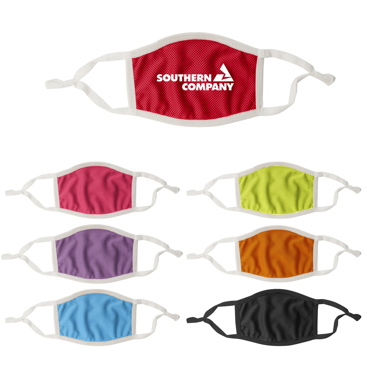 Adjustable 3-Ply Personalized Cooling Masks