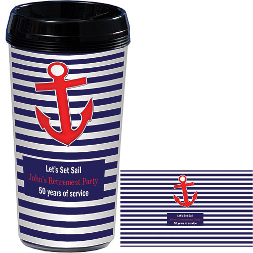 Nautical Nights Personalized Travel Mugs