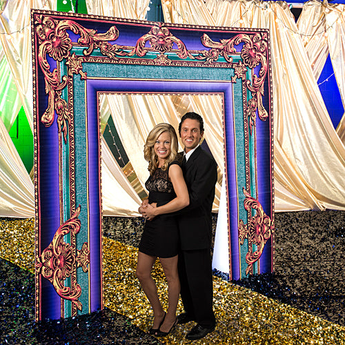 9 ft. 2 in. Mardi Gras Frame Arch
