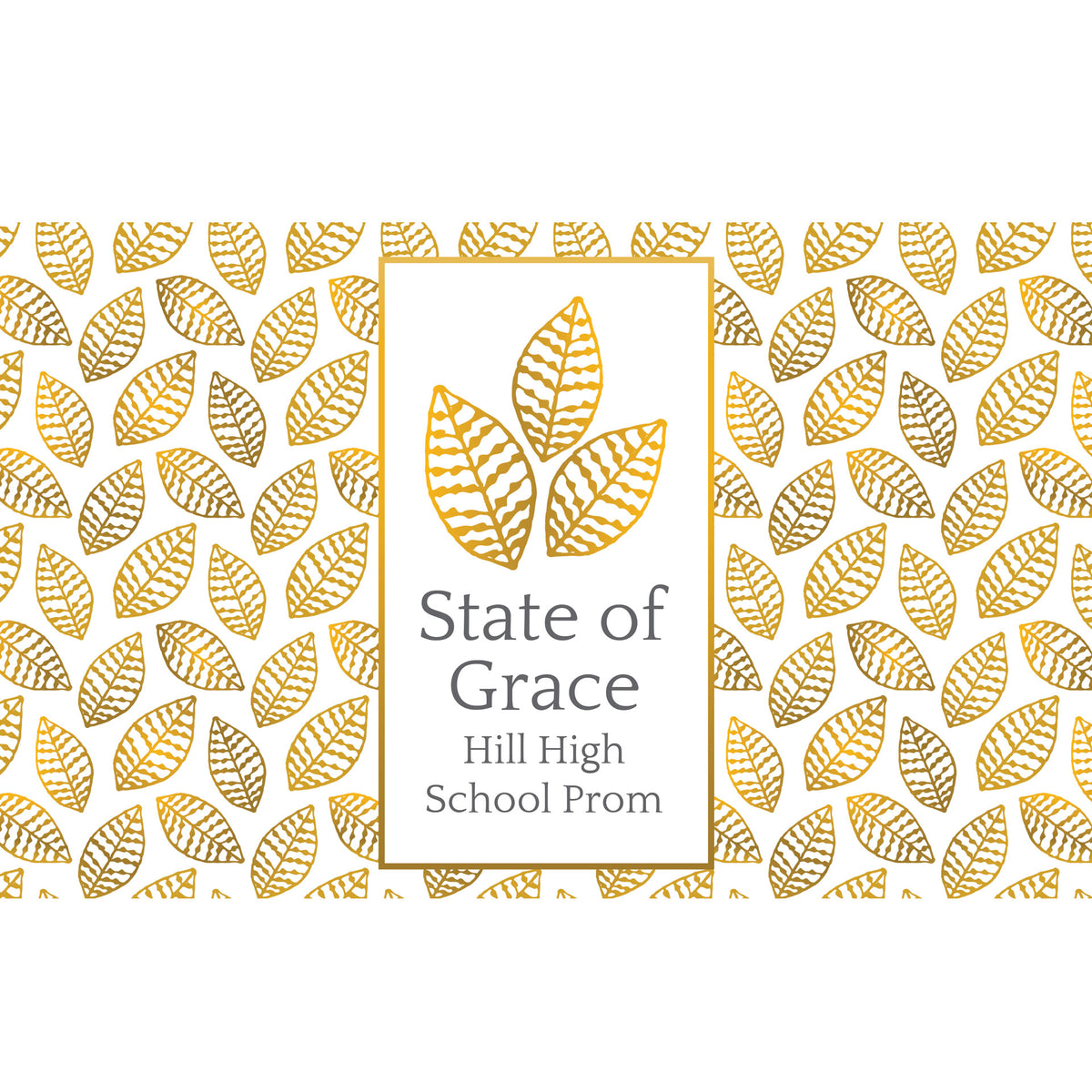 State of Grace Personalized Tumbler