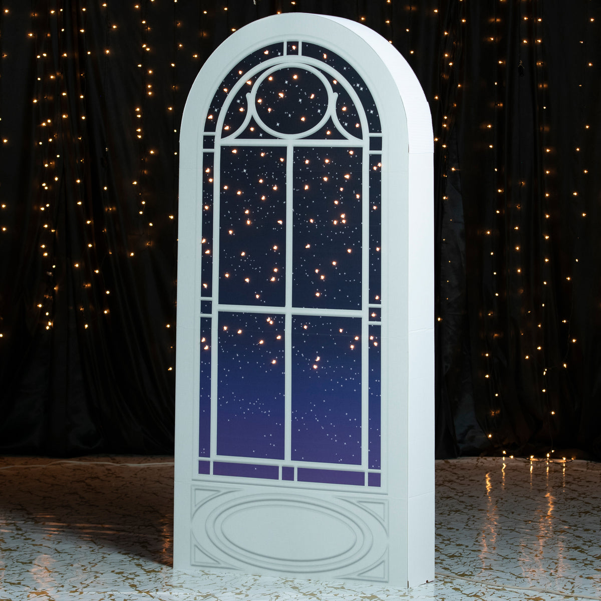 7 ft. 4 in. Sail Away Lighted Window Prop