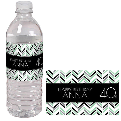 Best Day Ever 40 Water Bottle Labels