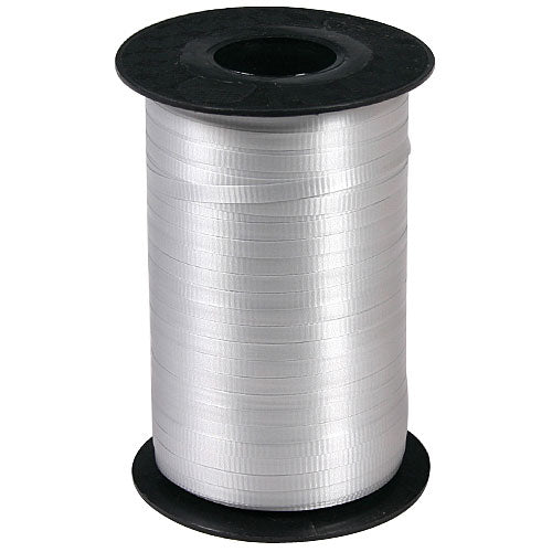 Silver Gray Curling Ribbon Rolls