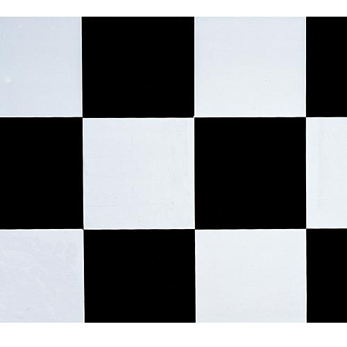 Black And White Checkerboard Poly Vinyl