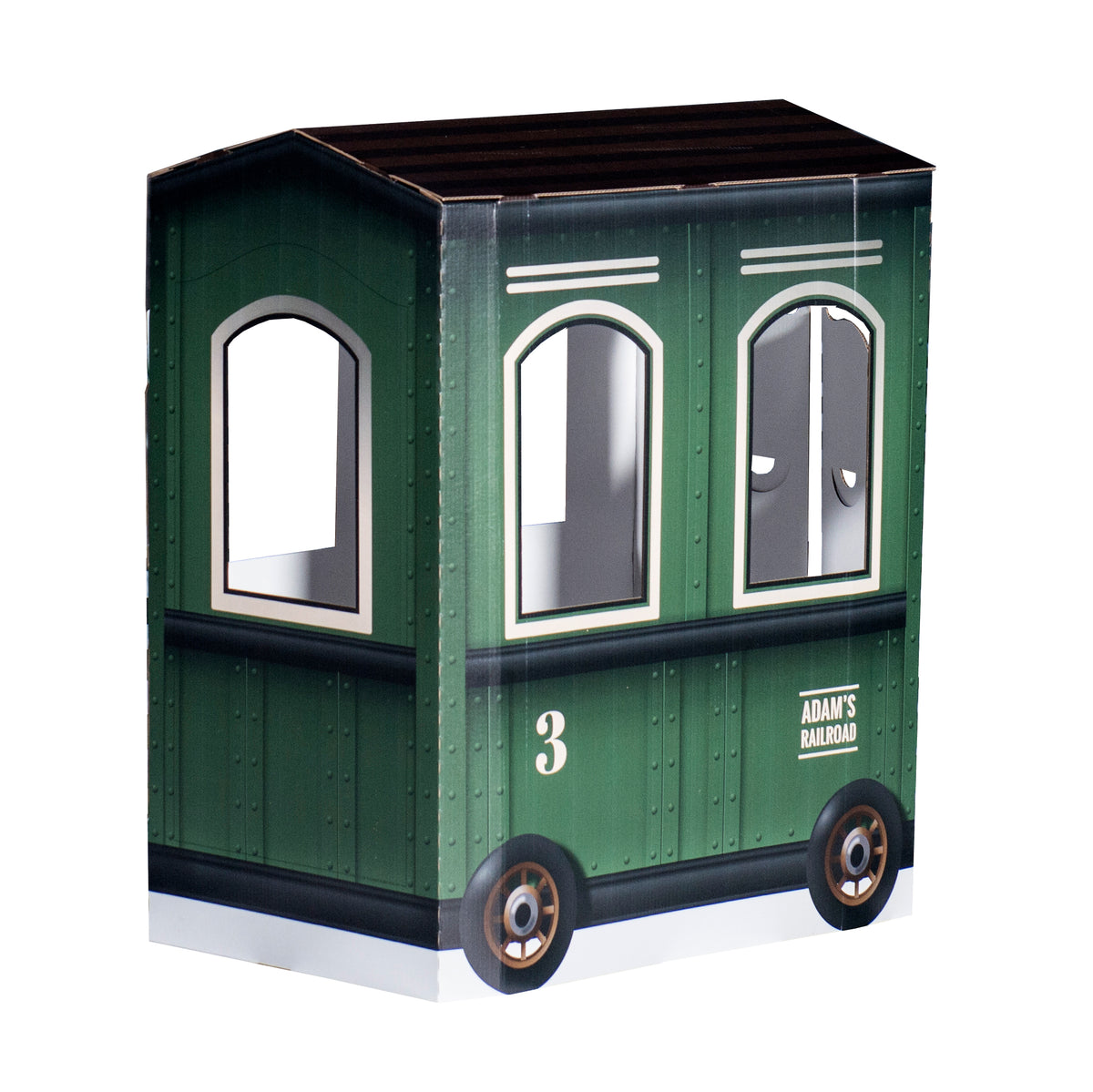 3 ft. 5 in. 3D Personalized Railroad Car Prop