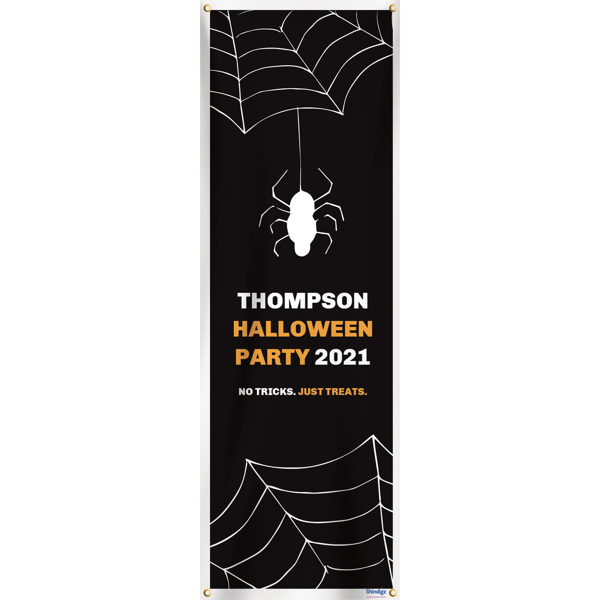 Scary Good Time Personalized Vertical Banner