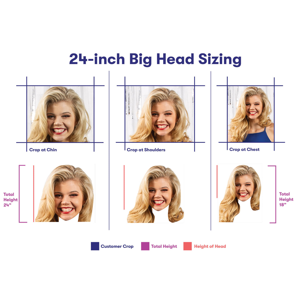 24 in. Big Head Cutout