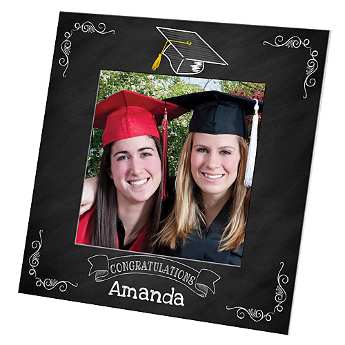 Grad Chalk Square Custom Vogue Frame
