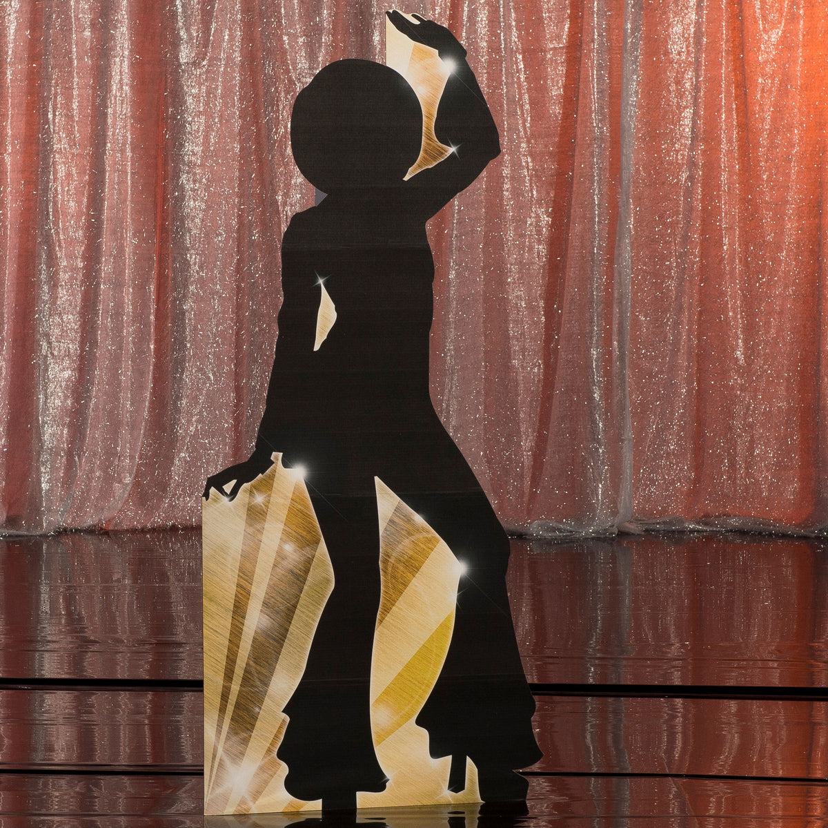 6 ft. 1 in. Studio 21 Silhouette Standee 2