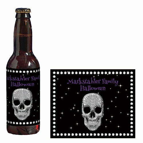 Boo And Bling Custom Glass Bottle Labels