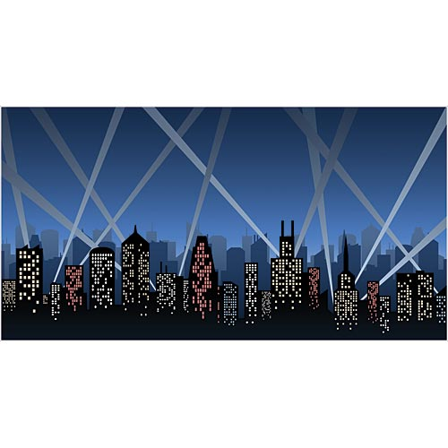 City Spotlight Photo Backdrop