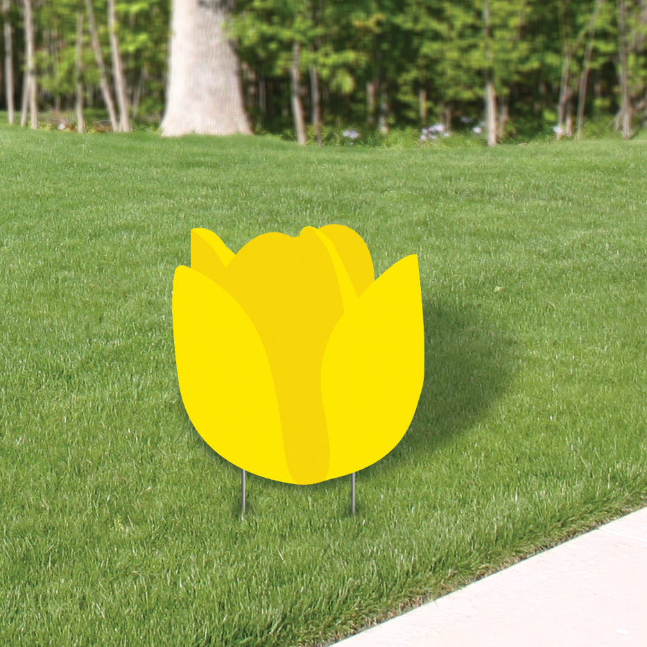 Tulip Yard Sign Expression Icon