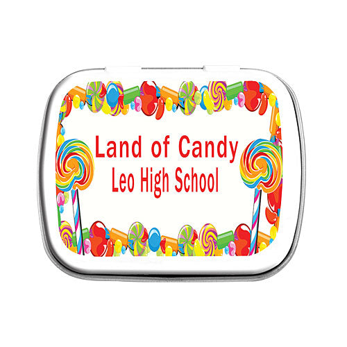 Lollipop And Candy Dreams Mint Tins