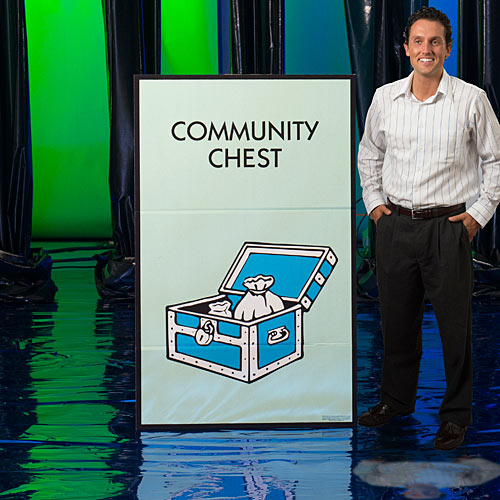 4 ft. 6 in. Monopoly Community Chest Standee