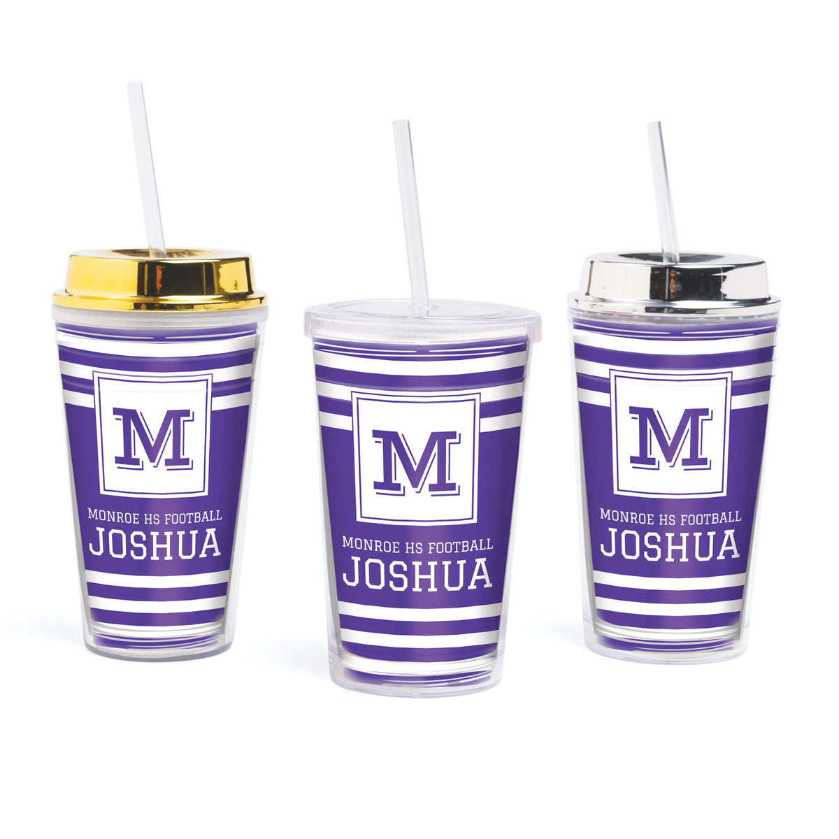 Bold Spirit Personalized Tumbler