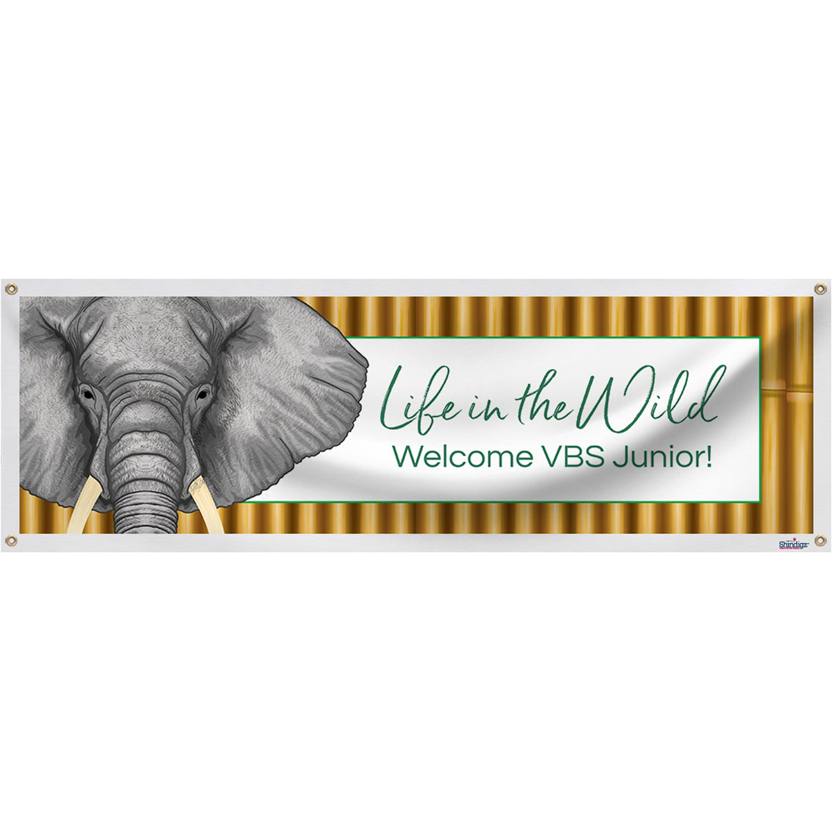 Life In The Wild Personalized Banner