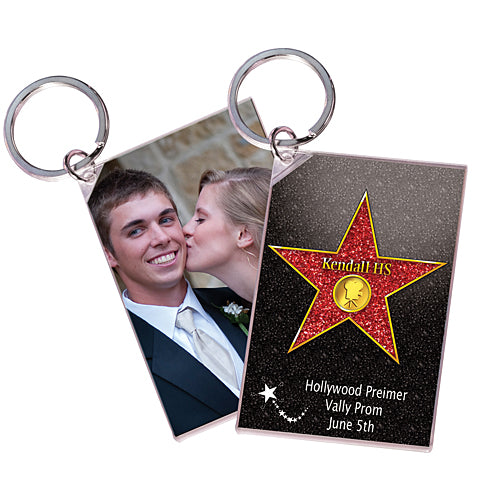 Star Walk Of Fame Acrylic Key Chain