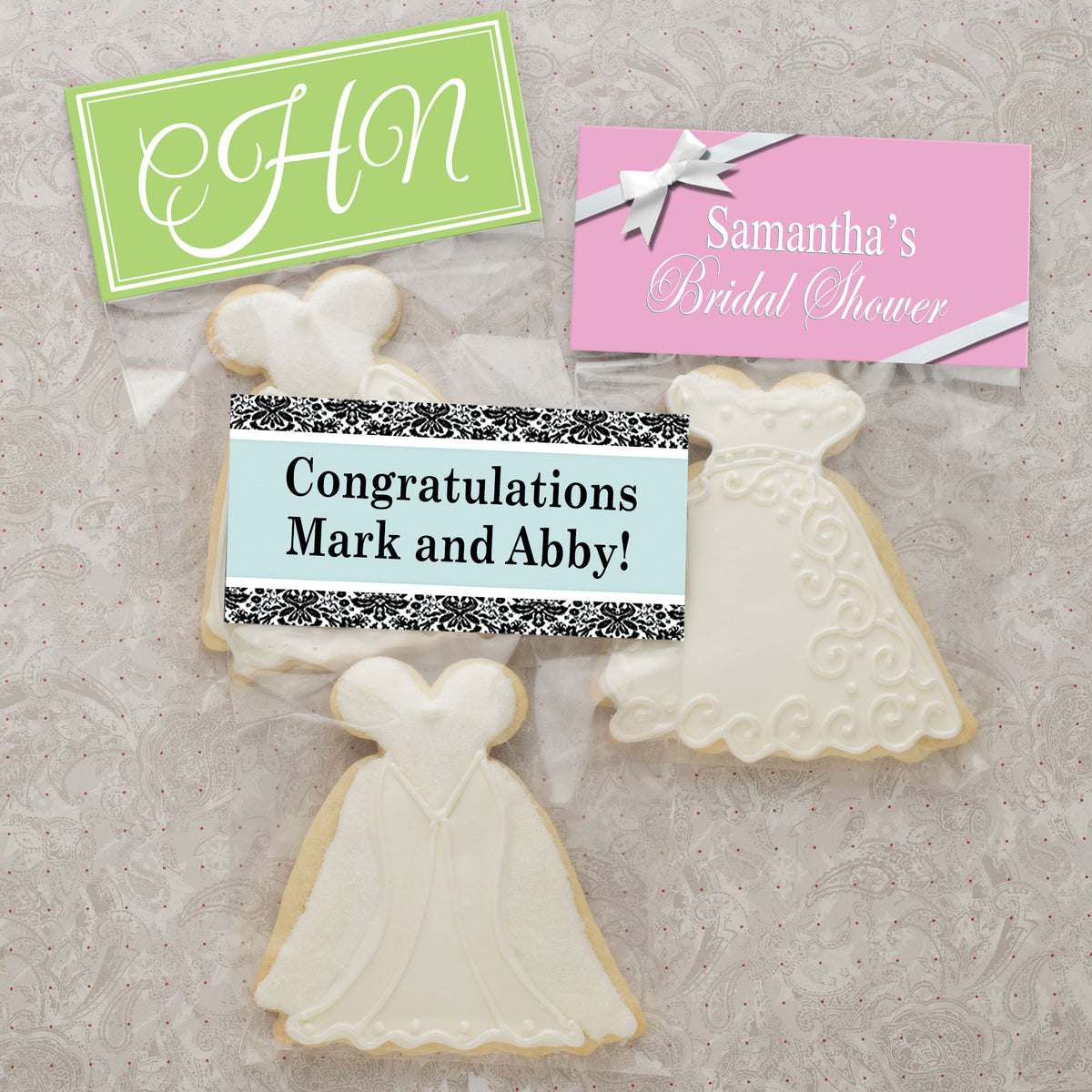 Bold Beginning Personalized Favor Bags