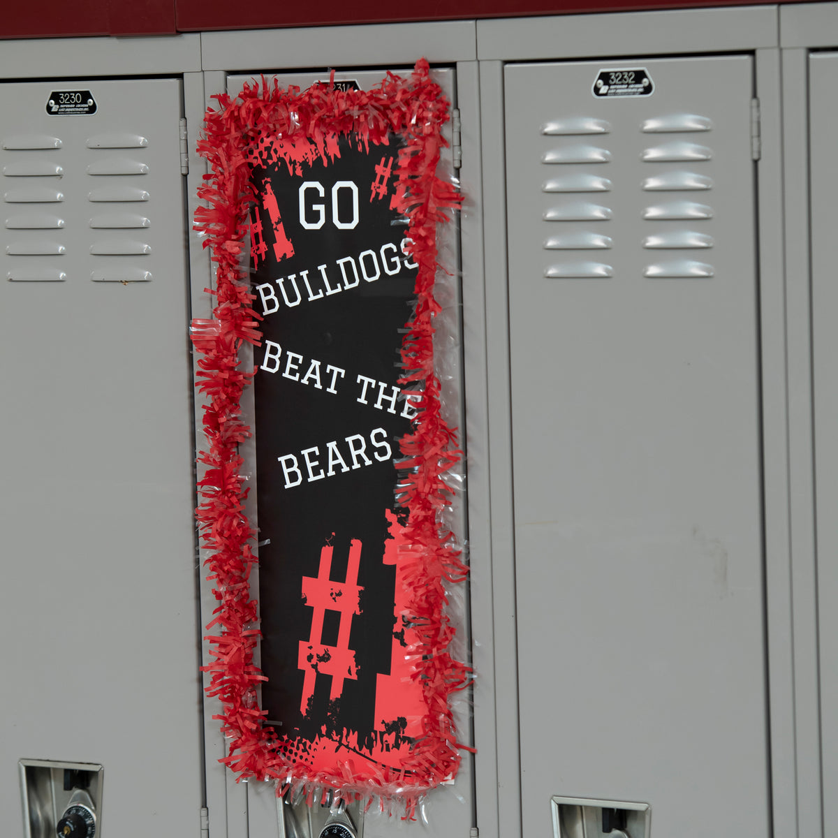 Basketball Locker Decals