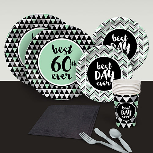 Best Day Ever 60 Basic Party Pack For 8