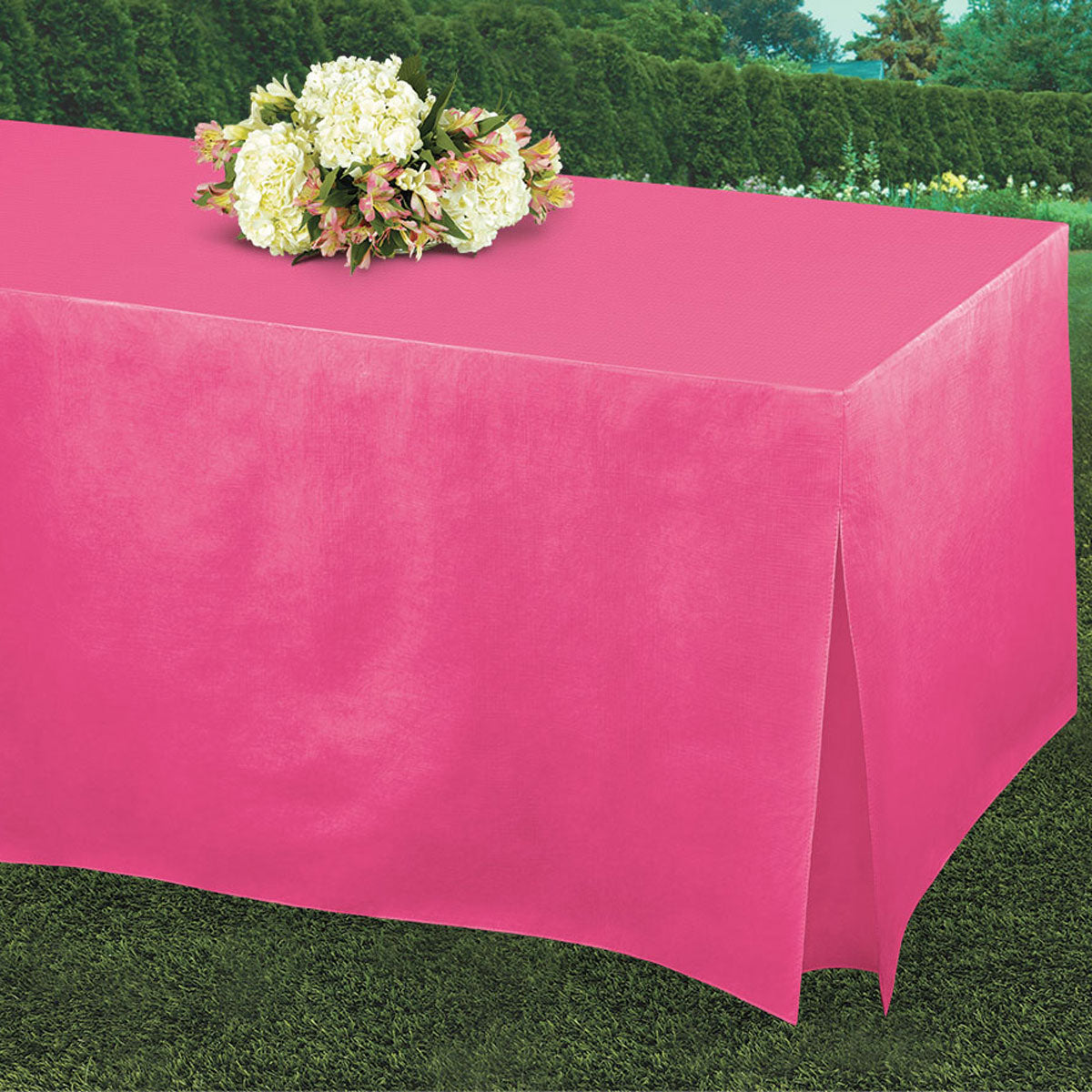 Hot Pink Tablefitters Table Cover