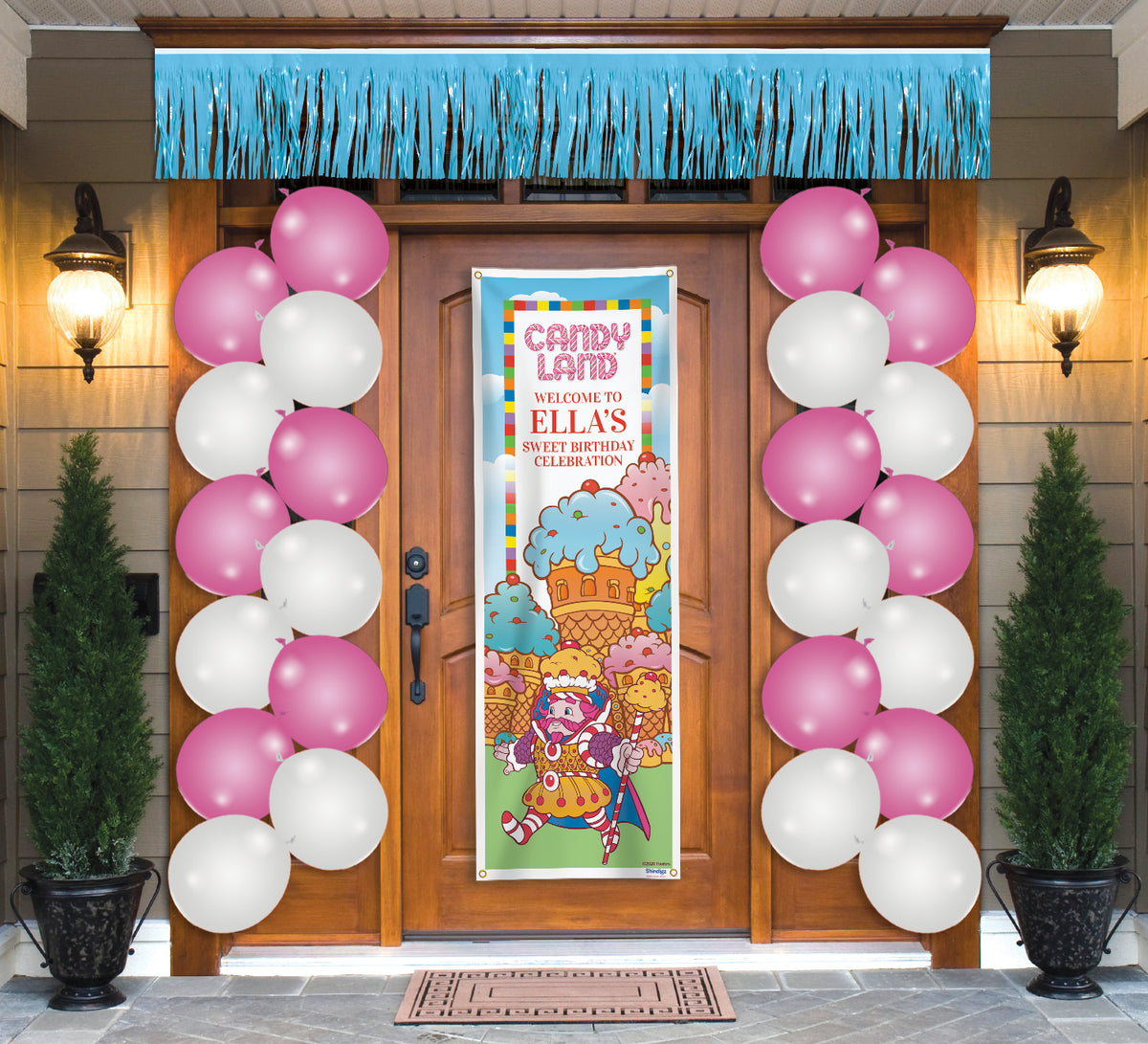 Personalized Candy Land Door Decor Kit