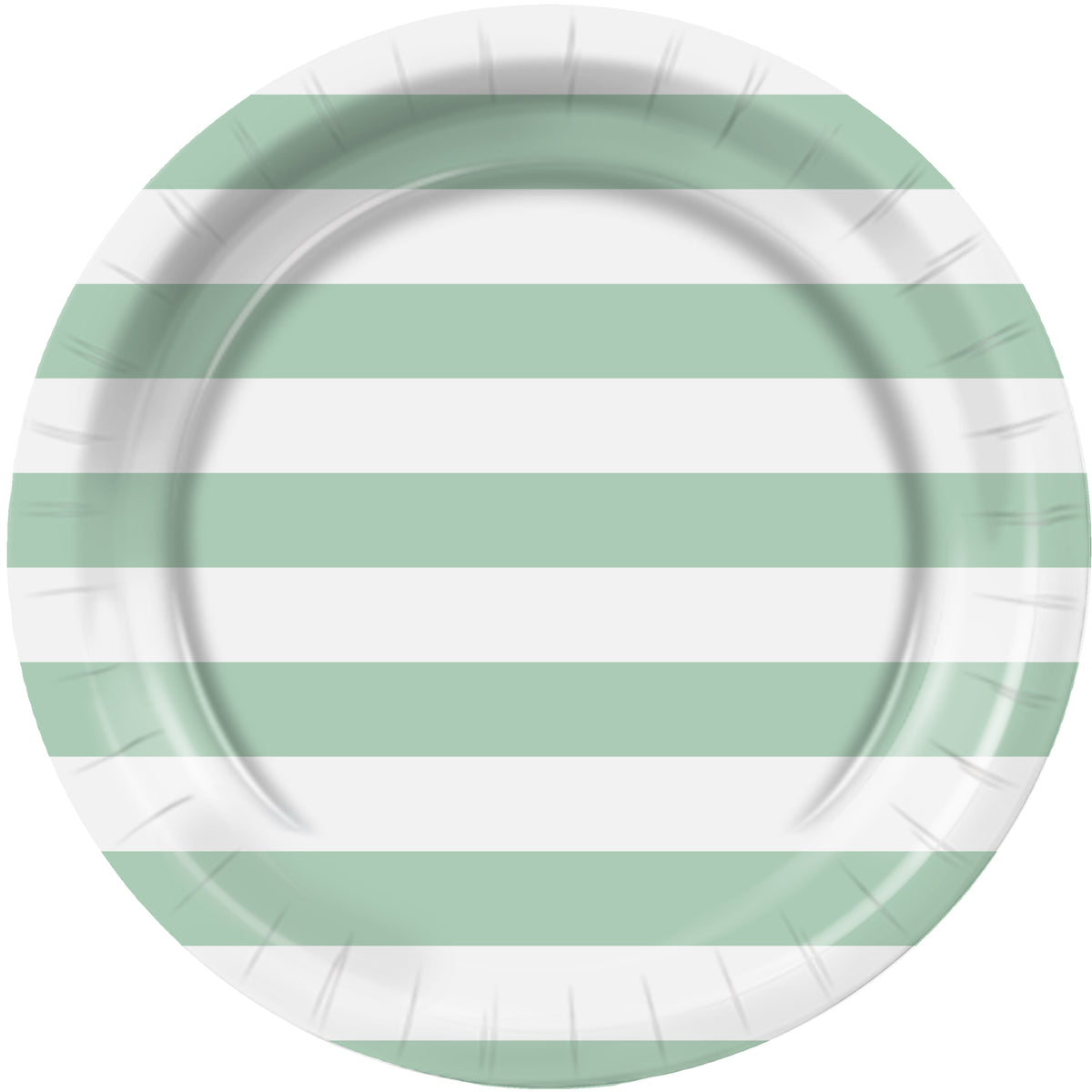 Choose Your Color Stripe Dinner Plates