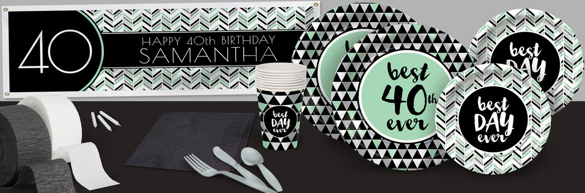 Best Day Ever 40 Deluxe Party Pack For 8