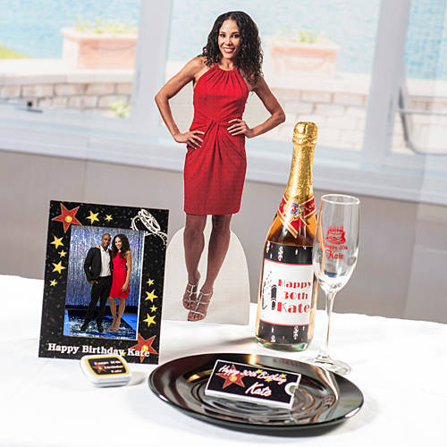 18 in. Adult Birthday Tabletop Photo Standee