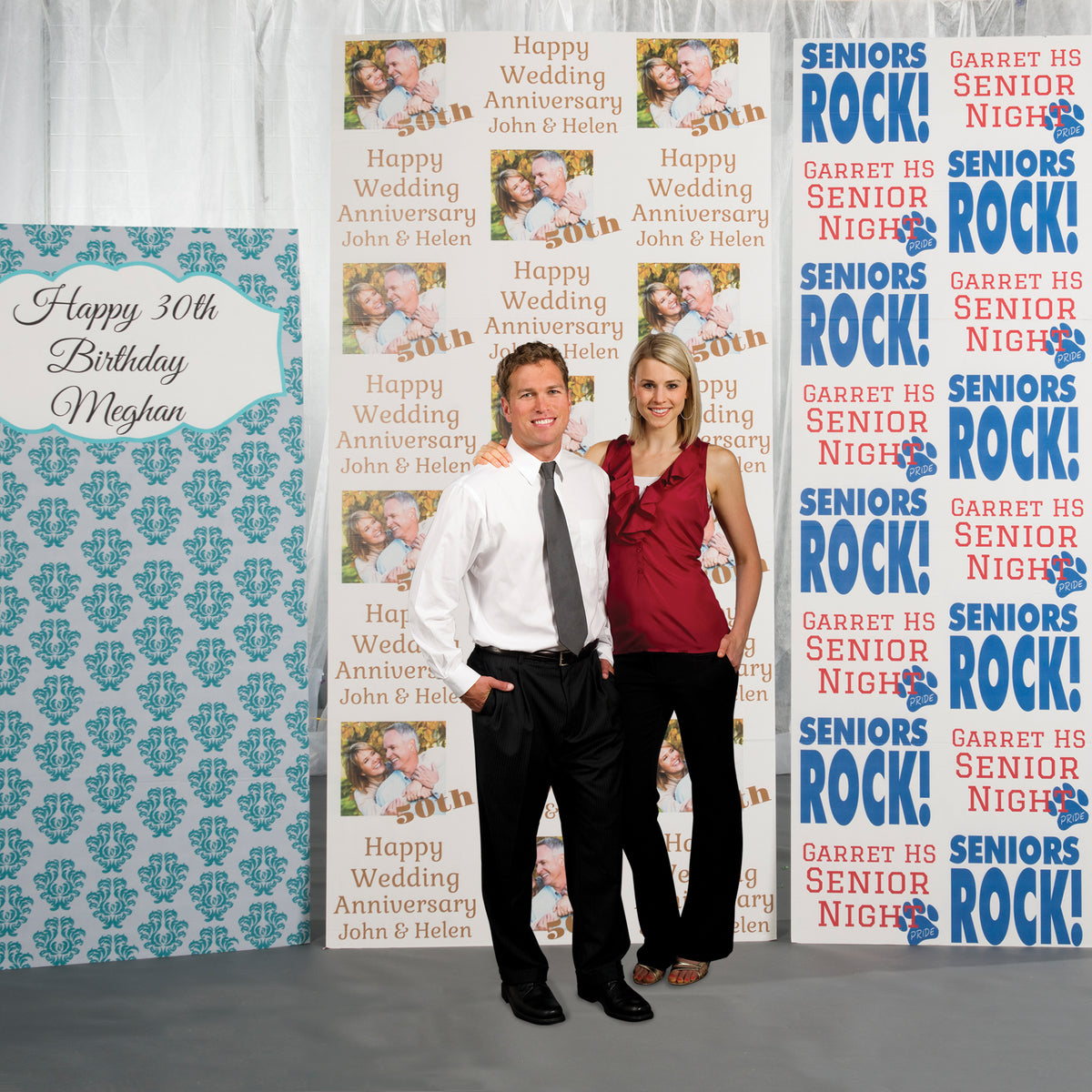 Carnival Spectacular Photo Booth Background