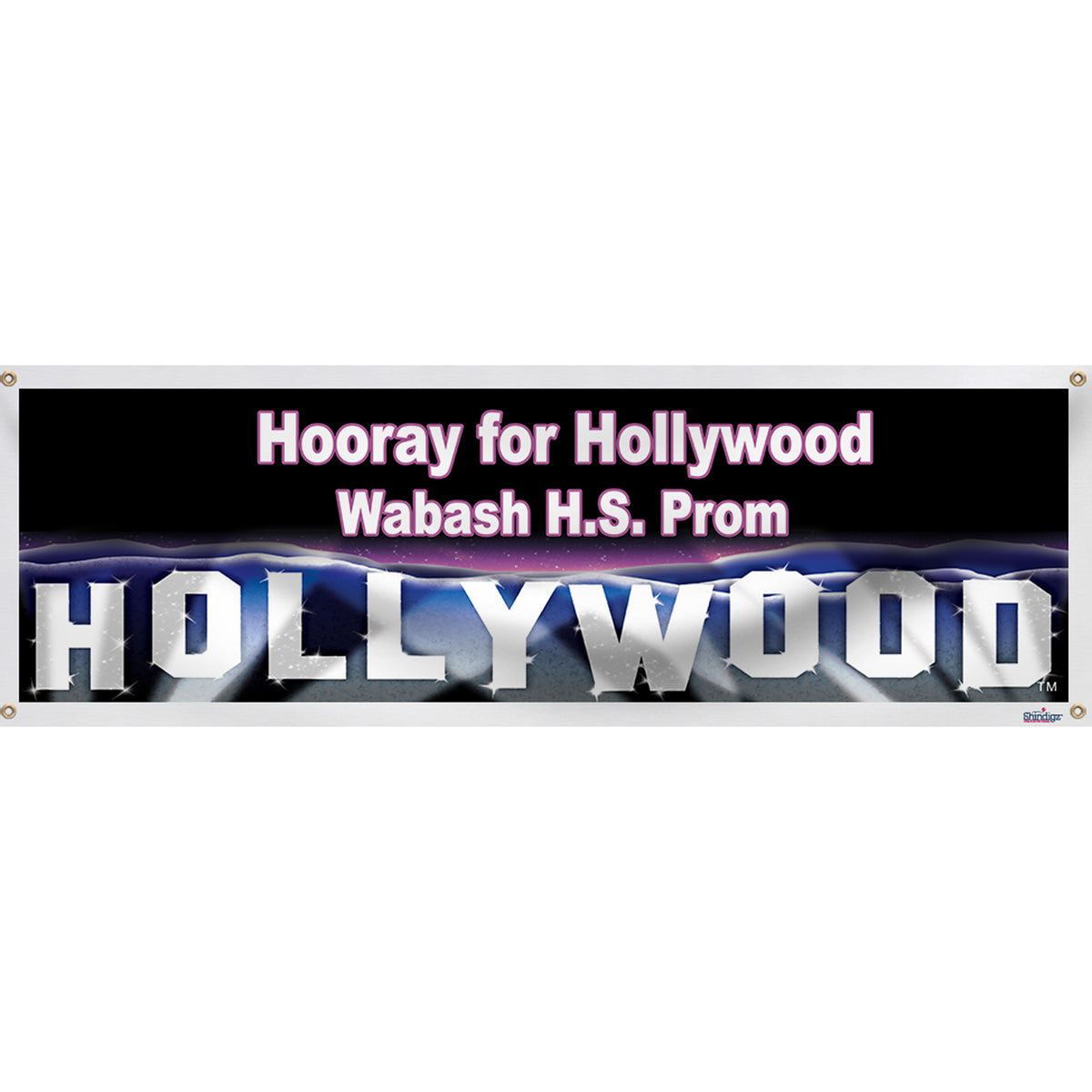 Hollywood Hills Banner