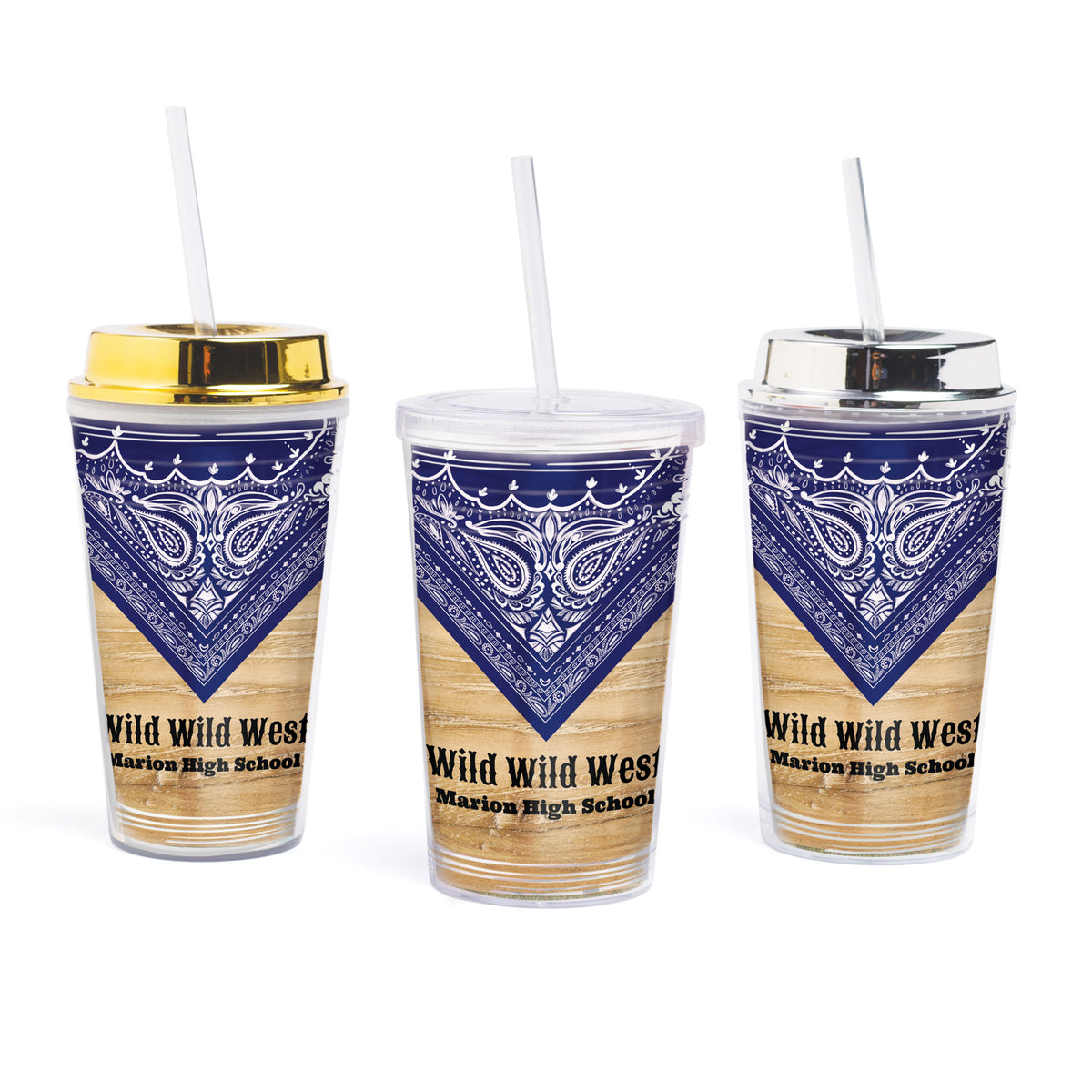 Wild West Fest Personalized Tumbler