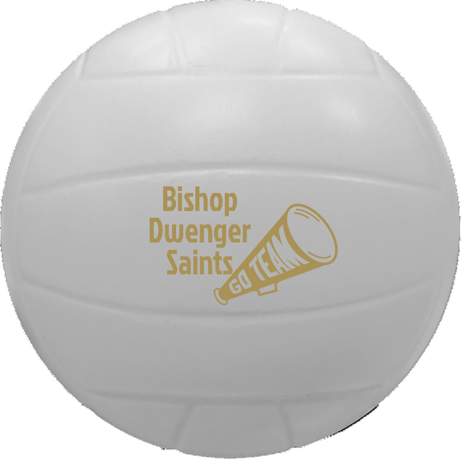 Volleyball Personalized Foam Stress Reliever
