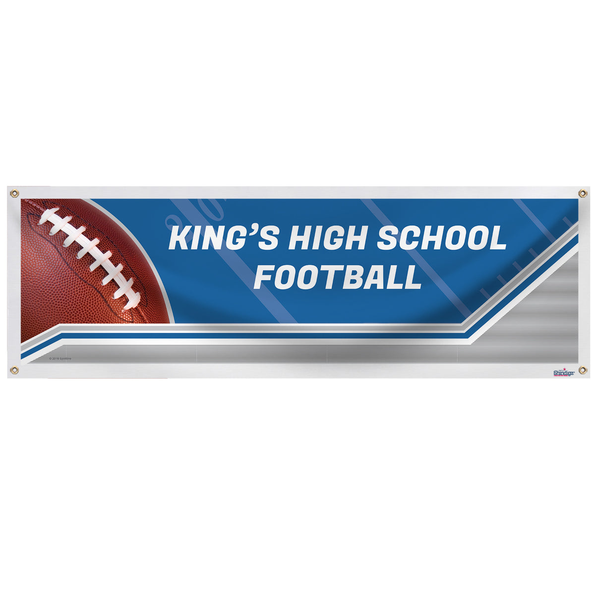 Football Spirit Personalized Banner