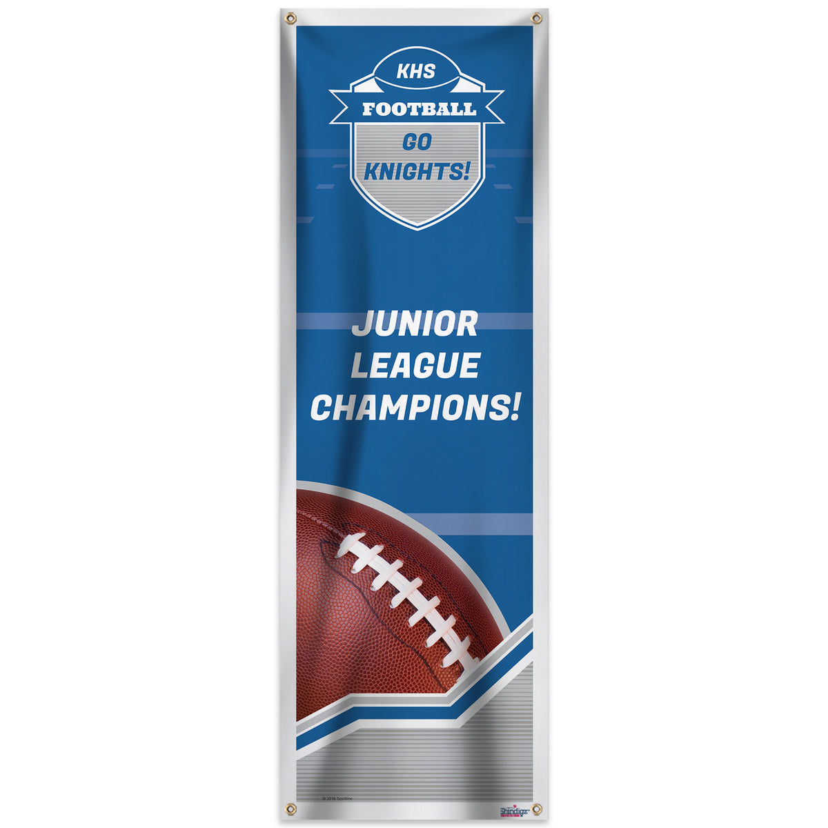 Football Spirit Vertical Banner
