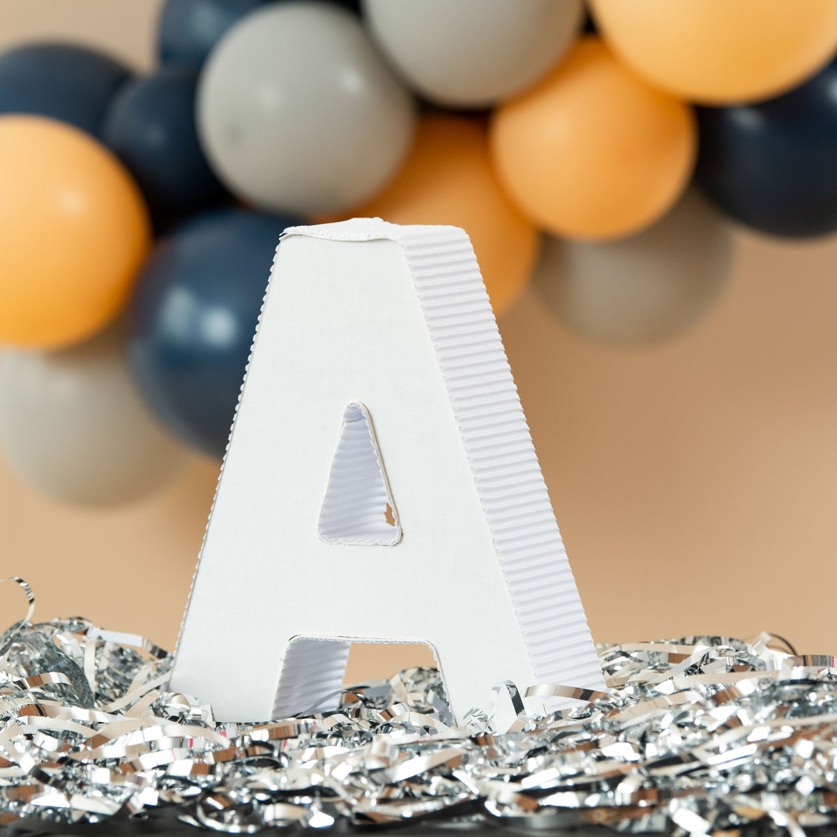 12 in. 3D Tabletop Letter A Prop