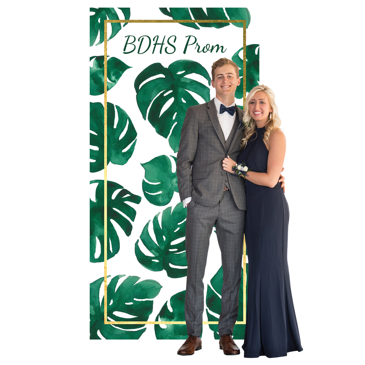 Tropical Chic Photo Booth Background