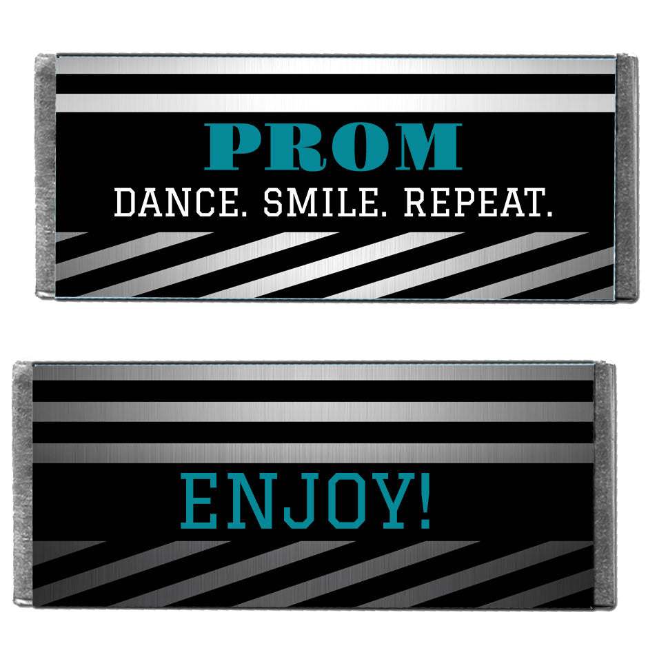Hershey's Chocolate Silver Stripe Personalized Candy Bars