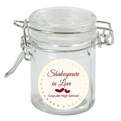 Shakespeare in Love Mini Favor Jars