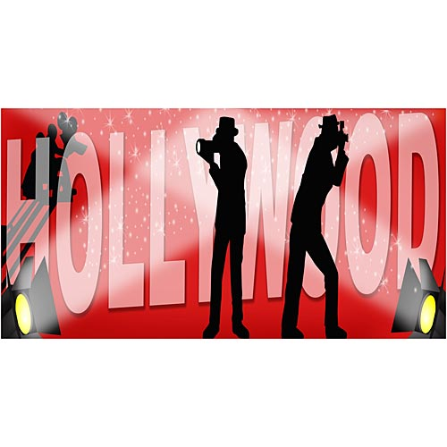 Hollywood Photo Backdrop