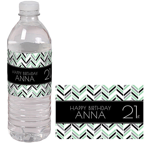 Best Day Ever 21 Water Bottle Labels