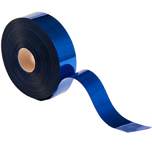 Dark Blue Metallic Streamers