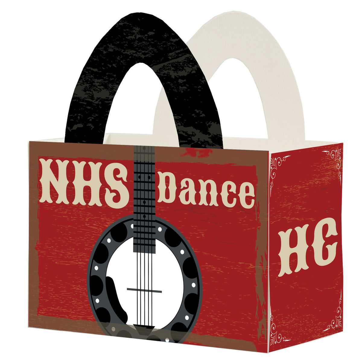 Nashville Nights Live Personalized Favor Box