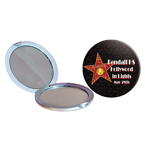Personalized Hollywood Walk of Fame Compact Mirror