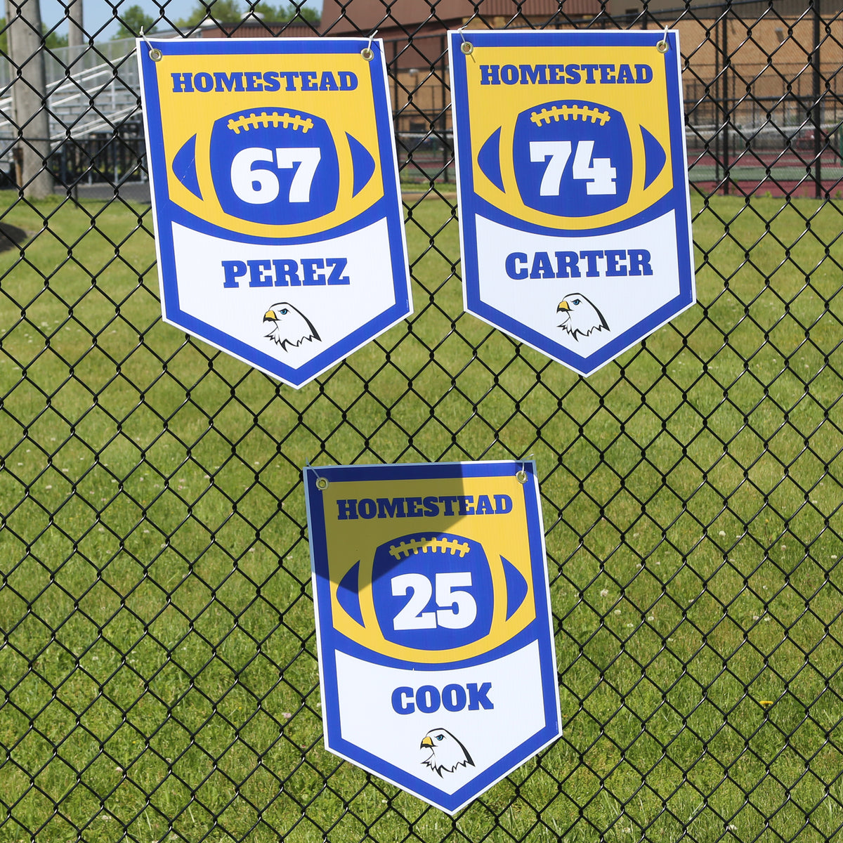 Pennant All Weather Sign with Grommets