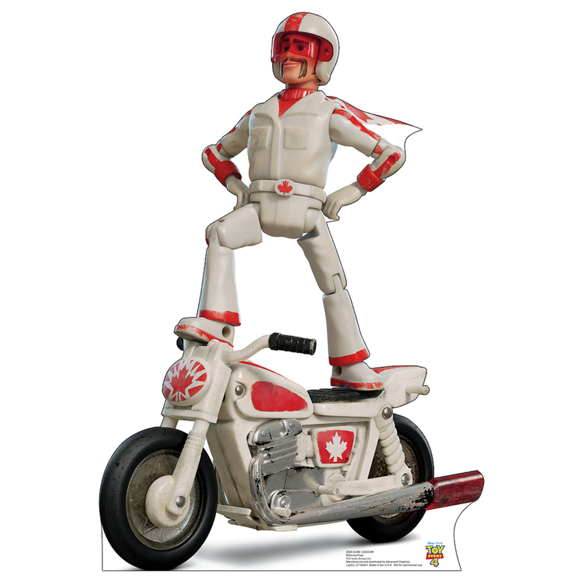 Toy Story 4 Duke Caboom Standee
